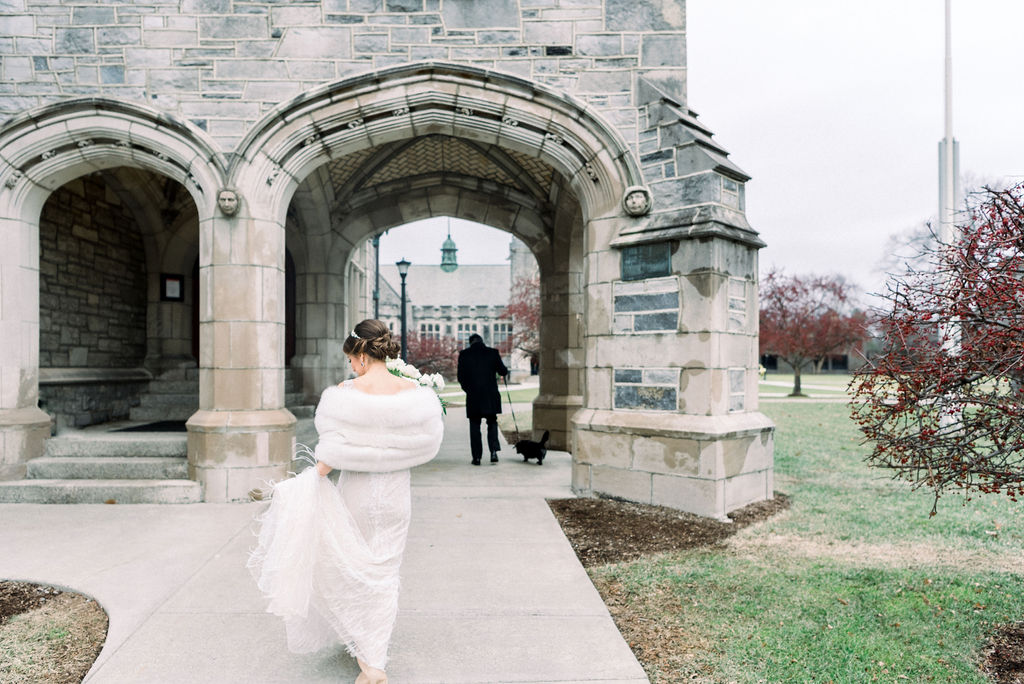 Lee Grebenau real bride NY Wedding
