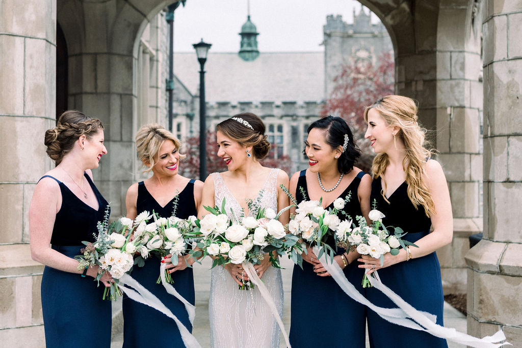 Lee Grebenau real bride NYC wedding