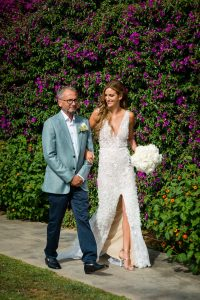 Lee Grebenau Bride Wearing Emma