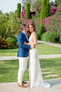 Lee Grebenau Bride Wearing Emma