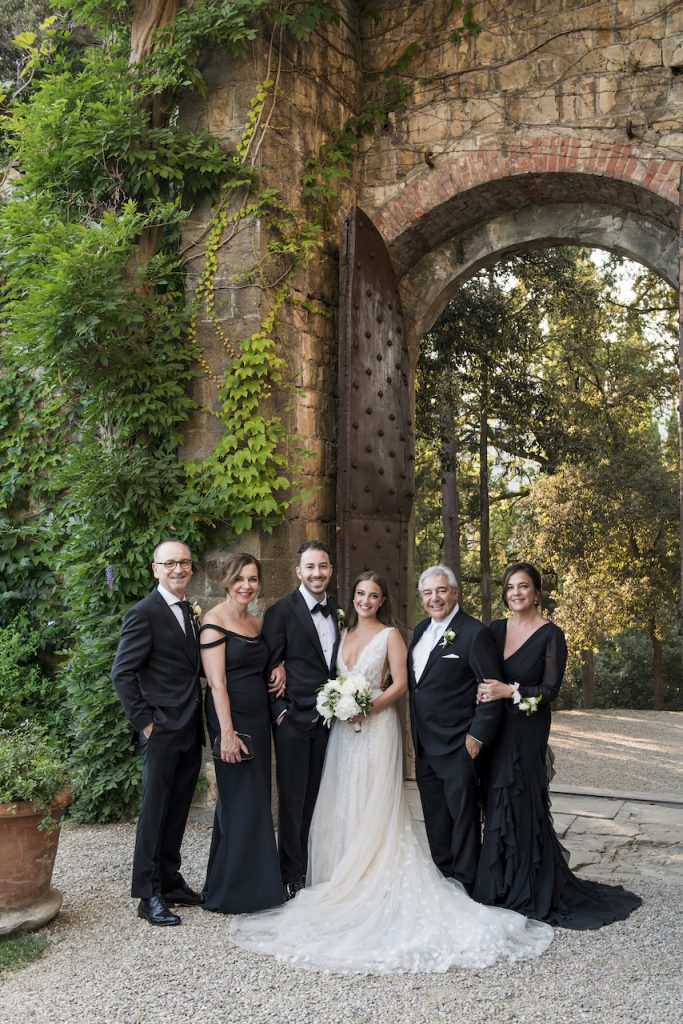 Lee Grebenau Bride's wedding in Florence Italy