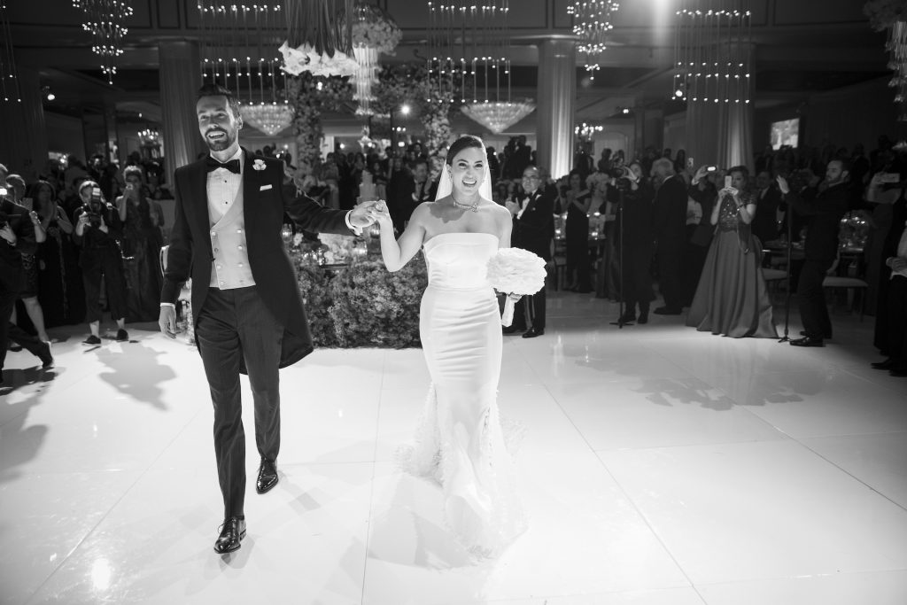 Fiona and Trent's Modern Luxury Wedding in Beverly Hills